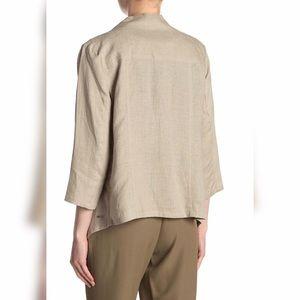 Dkny Jackets & Coats - DKNY Draped Linen Jacket